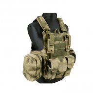 MILITARY GFC MOLLE Tactical vest CIRAS Maritime type w/pockets -AT FG