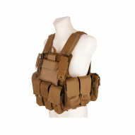 MILITARY GFC MOLLE Tactical vest CIRAS Maritime type w/pockets -tan