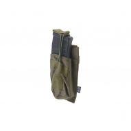 MILITARY Magazine pouch Open type for AK, olive