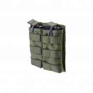 MILITARY Magazine open pouch for 2 magazines  AK/M4/G36, ranger green
