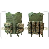 PBS Cadet Vest UTILITY (Digital Woodland)