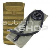 Water bottles and hydration bags Mil-Tec MOLLE Water Pack 3,0L coyote