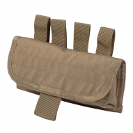 MOLLE Belt Pouch for Shotgun Cartridges Tan