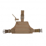 MILITARY Stehení panel MOLLE, tan