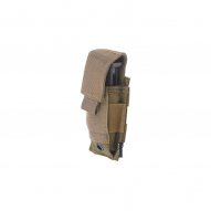 MILITARY Magazine pouch for one pistol mag, tan