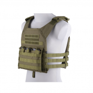 "MILITARY Nosič plátů ""Rush Plate Carrier"", oliva"