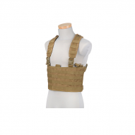 MILITARY GFC Chest rig typu Scout, tan