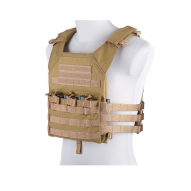 "MILITARY Nosič plátů ""Rush Plate Carrier"", tan"