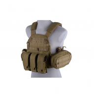 Tactical vests LBT 6094 type vest with pouches, tan