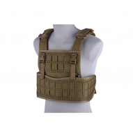 Tactical vests Vest tactical type Laser cut, tan