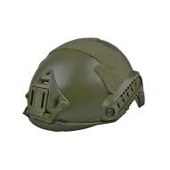 MILITARY Helma X-Shield typu FAST, oliva