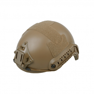 MILITARY Helma X-Shield typu FAST, tan