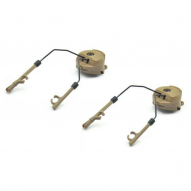 Adapters for PELTOR FOR COMPACT, tan