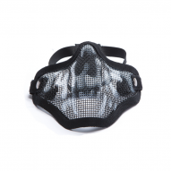 Face Masks Wire Face Mask with Skull, Black