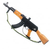 AK-47 (wooden stock and wooden foregrip)