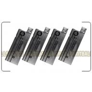 ZÁSOBNÍKY Milsig 18rd First Strike Magazine - Square Head BLACK (M17, M-series) 4 PACK