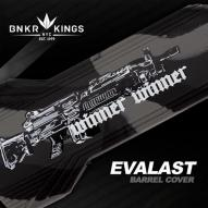 HLAVNĚ Bunker Kings Evalast Barrel Condom Winner Winner - Black