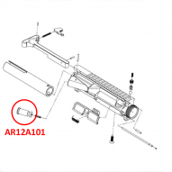 AR12A101 Tiberius T15 Forward Assist Button