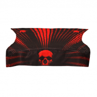 OBLEČENÍ Bunker Kings Royal Wrap Kings Skull Red