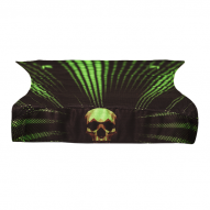 OBLEČENÍ Bunker Kings Royal Wrap Kings Skull Lime