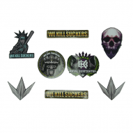 ACCESSORIES BunkerKings Assorted Sticker Pack