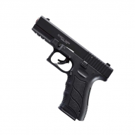 SELF-DEFENSE Blank pistol Ekol Gediz black, cal. 9mm P.A.Knall