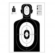 ACCESSORIES Shooting Target Silhouette 980x590 mm