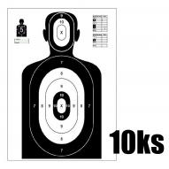 ACCESSORIES Shooting Target Silhouette 980x590 mm - 10pcs