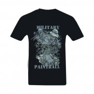 CLOTHING T-shirt military paintball black