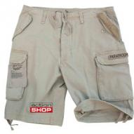MILITARY Paratrooper Shorts, prewashed khaki XL