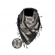 Headwear Shemagh Scarf Pineapple, black/white