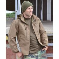 Mikiny/Bundy Mil-Tec Bunda Softshell GTX PCU Coyote Brown