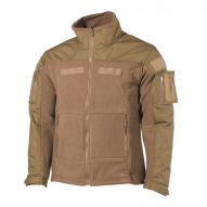 MILITARY Bunda Combat Fleece jacket, tan