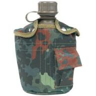 Water bottles and hydration bags Water canteen US, imp. - flecktarn