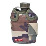 Water bottles and hydration bags US polymer water canteen with cup and cover, woodland