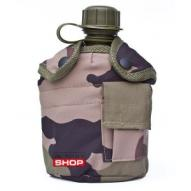 Water bottles and hydration bags US polymer field bottle with cup nad cover, CCE