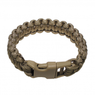 MILITARY Bracelet paracord, tan