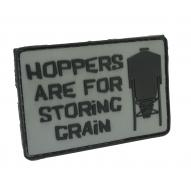 Patch Hoppers Are For Storing Grain (Gray)