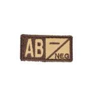 Patch - AB NEG tan