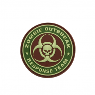 MILITARY Patch Zombie ORT, Multicam