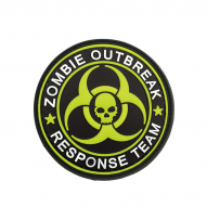 MILITARY Patch Zombie ORT, colored