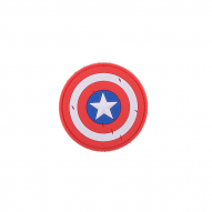 MILITARY Nášivka Shield of Captain America