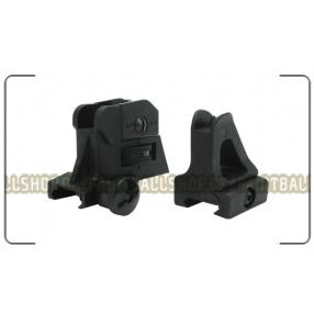 POLYMER AR Sights Set (Black) Click to view the picture detail.