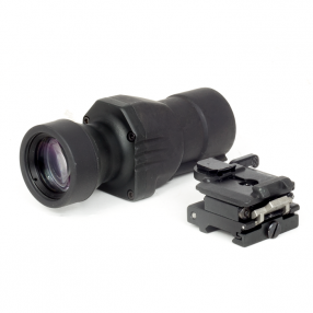 Magnifier 4x for Eotech, with flip-up mount Click to view the picture detail.