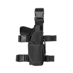 GFC Modular Thigh Pistol Holster with Magazine Pouch, black Click to view the picture detail.