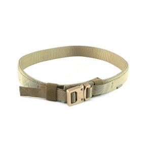 Hard 1.5 Inch (38mm) Shooter Belt - Khaki, size M Click to view the picture detail.