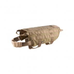 Tactical harness for dog, size M, tan Click to view the picture detail.