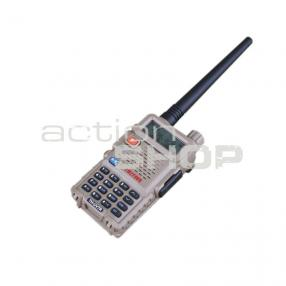 TH-UV7R dualband Radiostation UHF/VHF Click to view the picture detail.