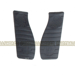 Black Grip Cover Set /FT12 Click to view the picture detail.