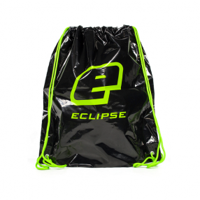 Eclipse LDPE Drawstring Bag Black/Green Click to view the picture detail.